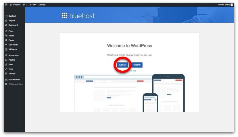 Bluehost WordPress Blog