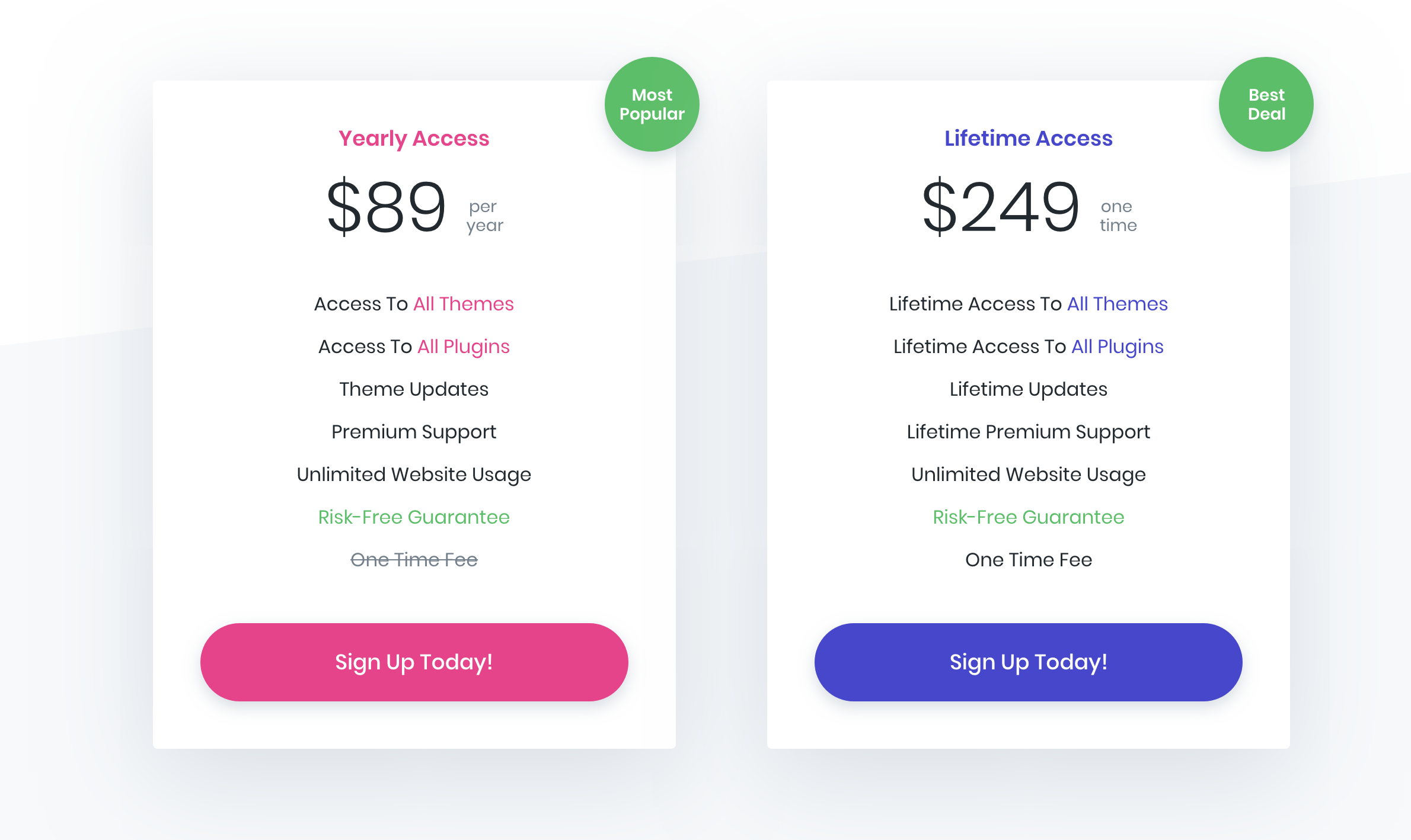 Divi Pricing