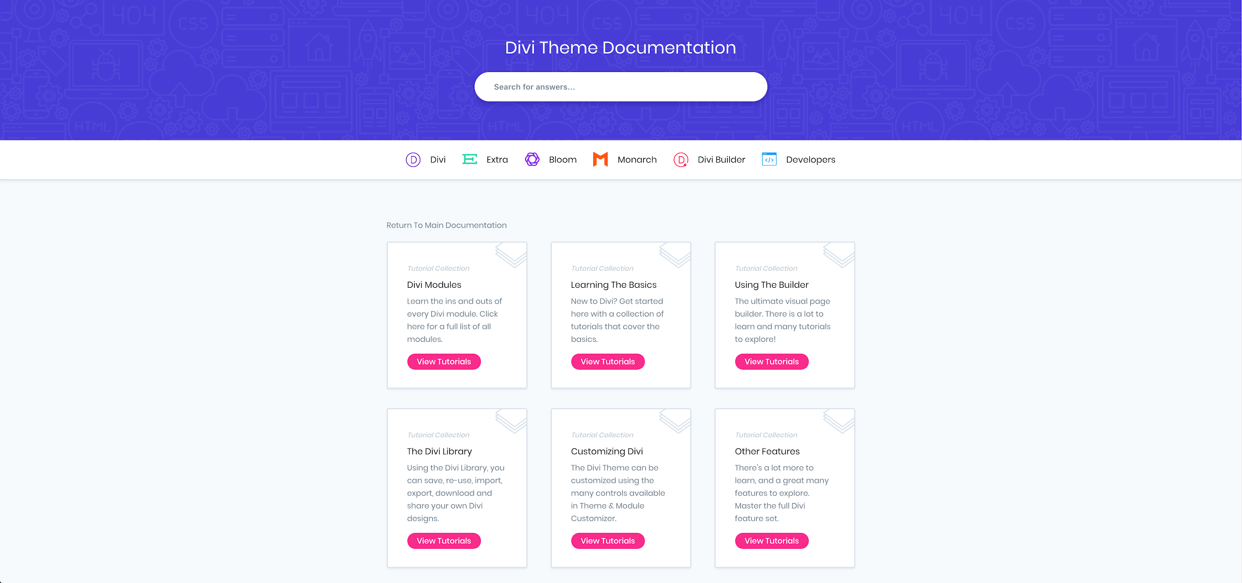 Divi Theme Documentation