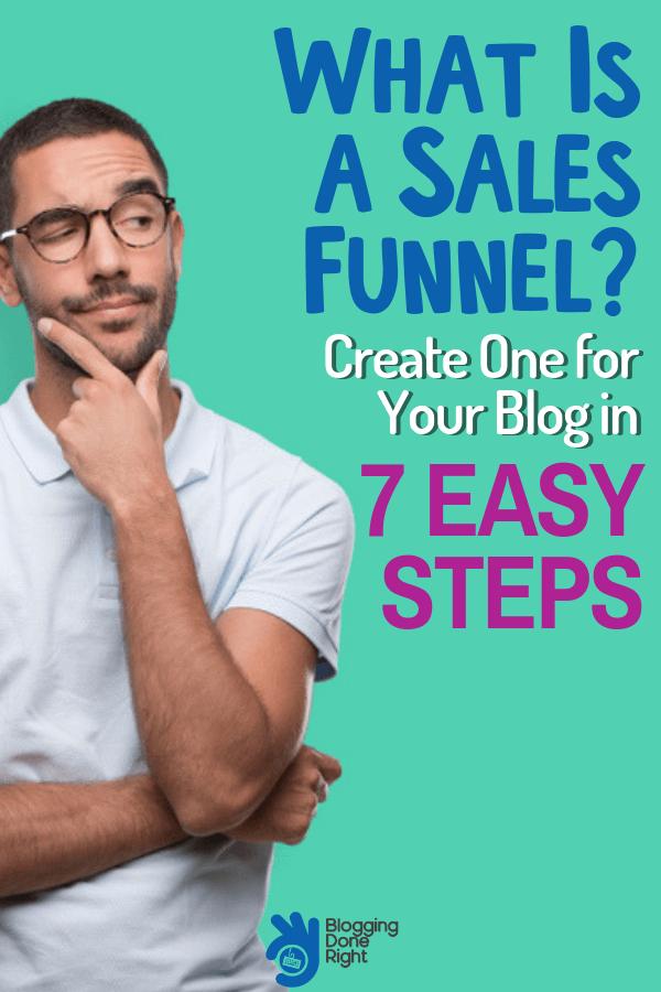 An easy 7 step guide in creating sales funnel for your blog business that can possibly turn your unique visitors to one of your local customers. #salesfunnel #visitortocustomer