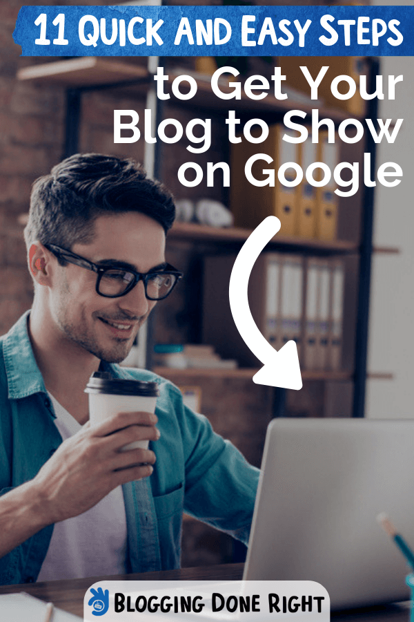 Blog traffic is vital for potential income. Here are a few helpful steps on how to get your blog to show up on Google and get more page visits. Check this out! #stepstogetyourblogongoogle #formorepagevisits