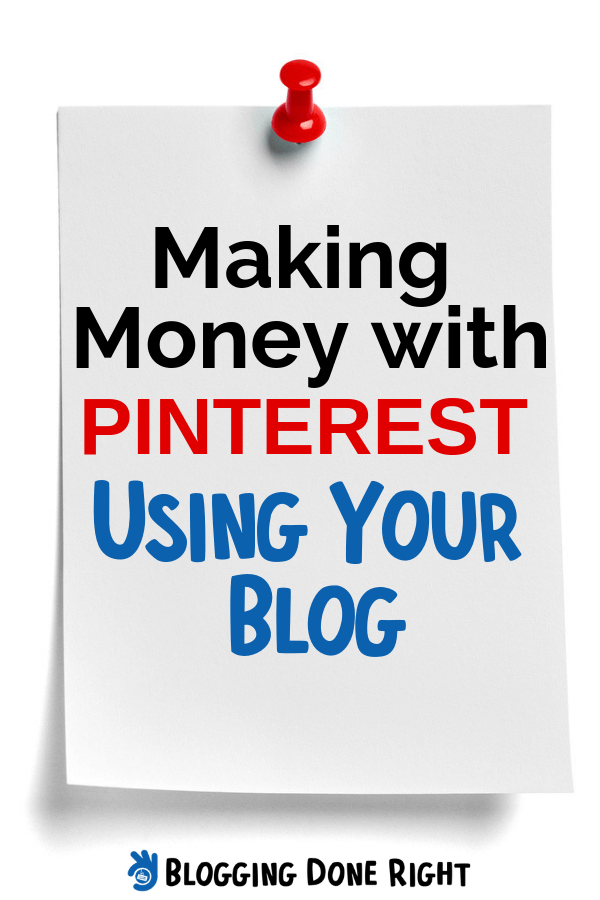 Did you know that you can use Pinterest to make a substantial amount of income using the content that's already on your blog? If not, then this article is definitely for you. #pinterestandblogging #earnwithpinterest