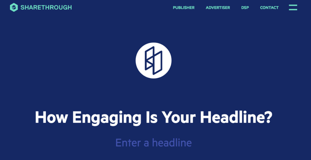 Sharethrough Headline Analyzer