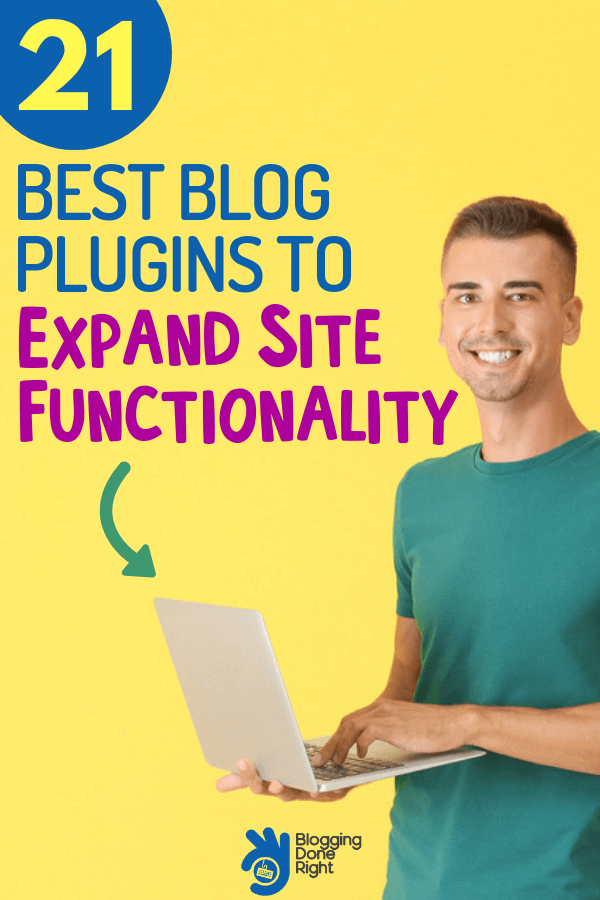 Be a blog boss with these 21 best blog plugins that will increase the functionality of your blog. #blogboss #blogplugins