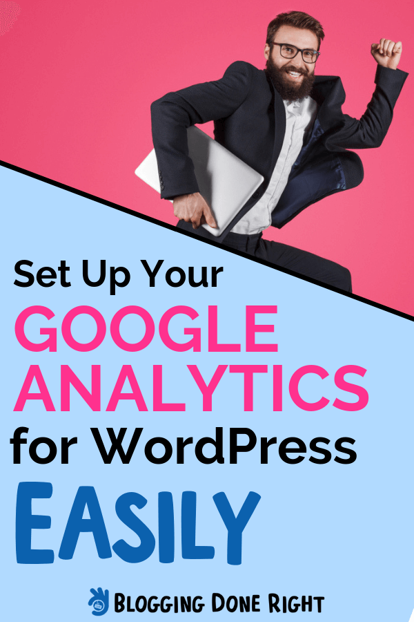 Track the performance of your WordPress website with Google Analytics, and grow your regular earnings. Check out this 7-minute guide to get you started. #googleanalytics #wordpressperformance