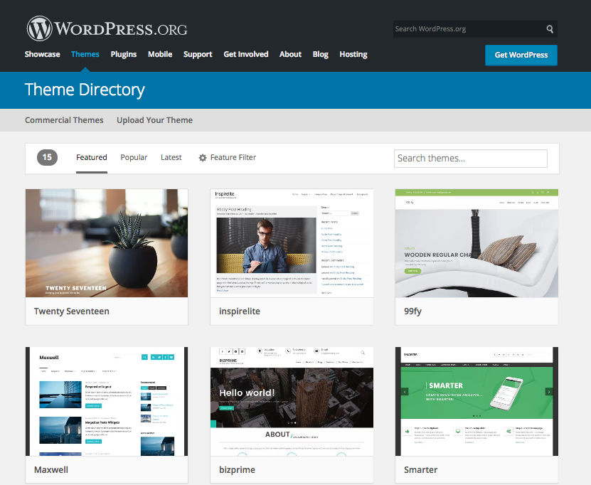 WordPress.org Templates